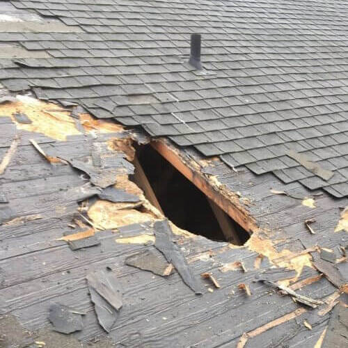 A Roof With a Hole in It